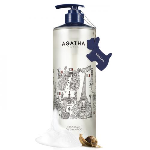 Увлажняющий шампунь с муцином улитки и маслами Agatha Escargot Oil Shampoo