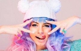 Звезда вечеринок: меняй цвет волос хоть каждый вечер