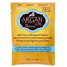 Глубоко восстанавливающий уход с аргановым маслом и кератином Hask Argan Oil Repairing Deep Conditioner Treatment