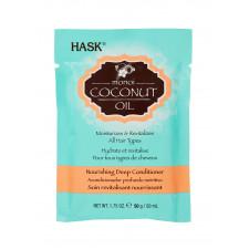 Глубокоувлажняющий уход с кокосовым маслом Hask Monoi Coconut Oil Nourishing Deep Conditioner
