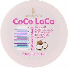 Увлажняющая маска с кокосовым маслом Lee Stafford Coco Loco Coconut Mask, 200 ml