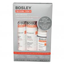 Набор для густоты истонченных окрашенных волос Bosley BosRevive Thickening