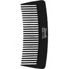 Черный гребень для волос Janeke Black Pocket Comb Pettine 57855