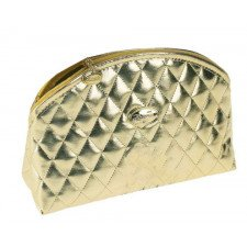 Косметичка Janeke Gold Quilted Pouch