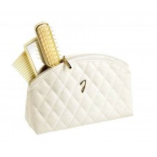 Косметичка Janeke Quilted Pouch White