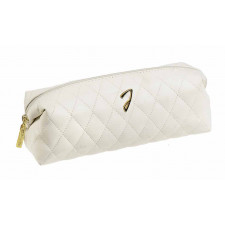 Косметичка Janeke Quilted Pouch Pencil White