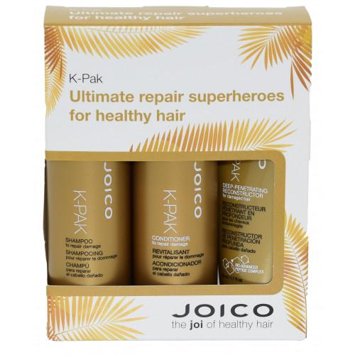 Набор реконструкция для поврежденных волос Joico Cracker K-Pak