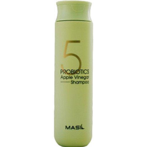 Мягкий бессульфатный шампунь с яблочным уксусом MASIL 5 Probiotics Apple Vinegar Shampoo, 300 мл