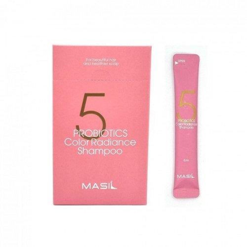 Шампунь с пробиотиками для защиты цвета Masil 5 Probiotics Color Radiance Shampoo Stick Pouch, 8 мл
