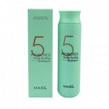 Шампунь для глубокого очищения кожи головы Masil 5 Probiotics Scalp Scaling Shampoo, 300 мл