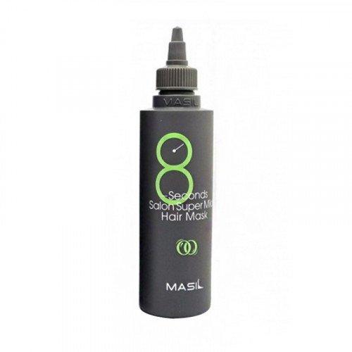 Мягкая восстанавливающая маска для волос Masil 8 Seconds Salon Super Mild Hair Mask Green, 200 мл