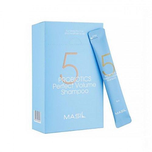 Шампунь для объема волос с пробиотиками Masil 5 Probiotics Perfect Volume Shampoo Stick Pouch, 8 мл