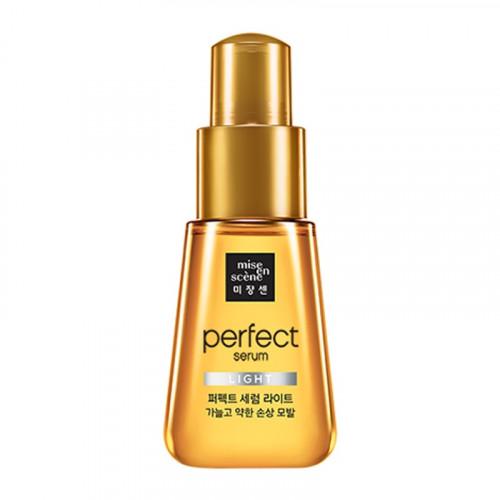 Легкая сыворотка-масло для поврежденных волос Mise en Scene Perfect Serum Light