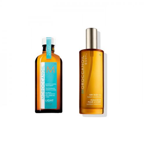 Набор масло для волос и тела Moroccanoil Head To Toe All Type Set