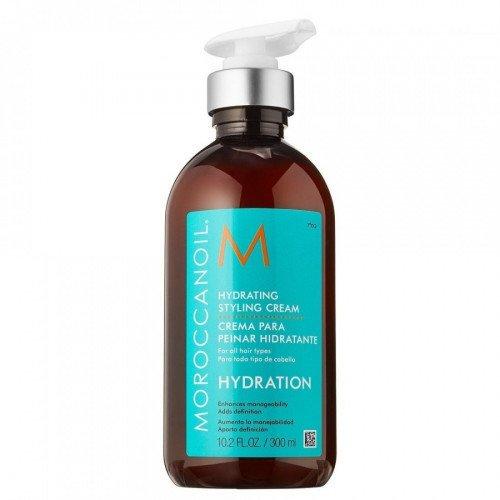 Увлажняющий крем для укладки волос Moroccanoil Hydrating Styling Cream, 300 мл