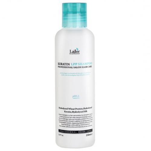 Безсульфатный шампунь с кератином La'dor Keratin LPP Shampoo