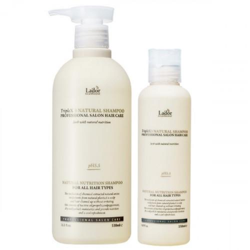 Органический шампунь La'dor Triplex Natural Shampoo