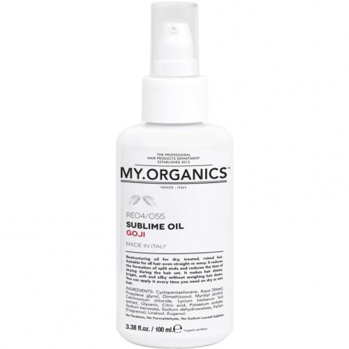 Органическое реструктурирующее масло My.Organics Sublime Oil