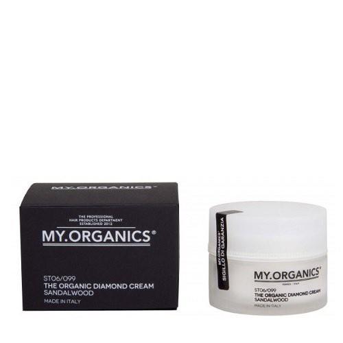 Бриллиантовый органический крем с маслом сандалового дерева My.Organicks The Organic Diamond Cream Sandalwood